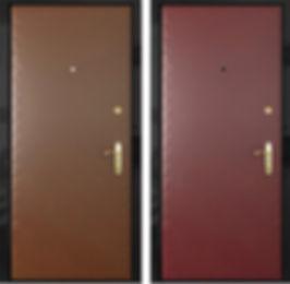 Дешевые стальные двери