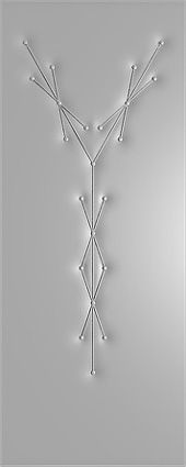 рисунок на кожзаме на железной двери
