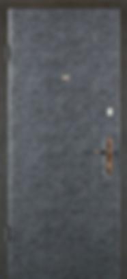 Дверь дешевая металлическая