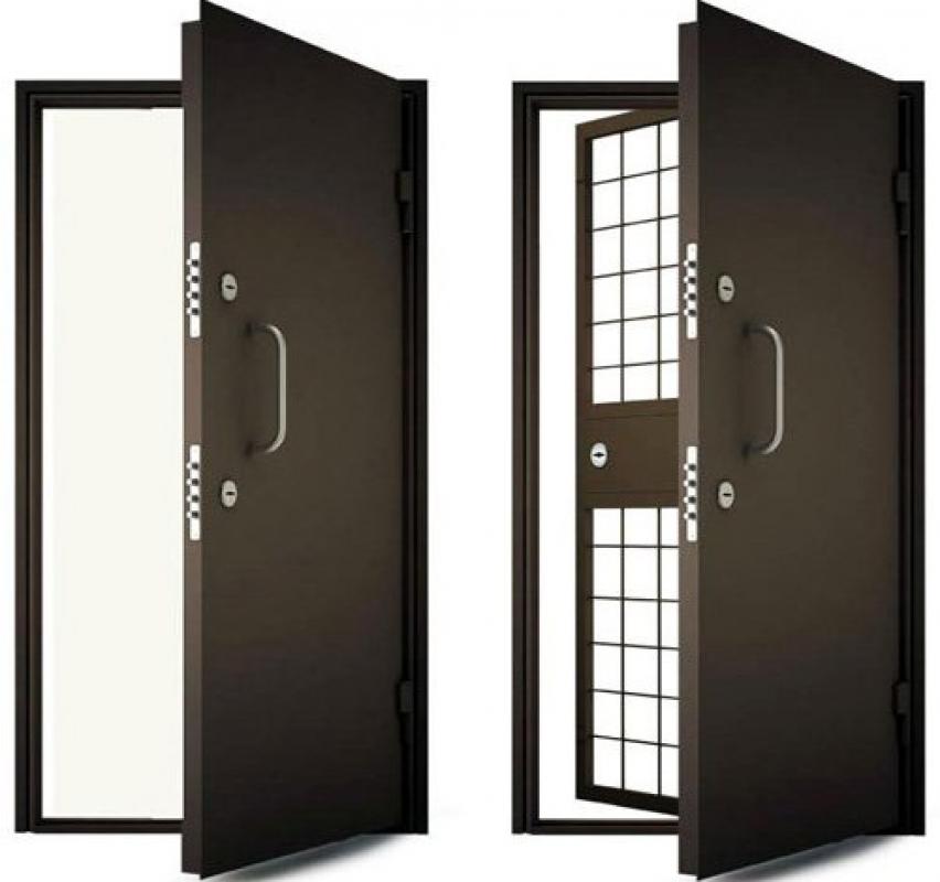Двери устойчивые к взлому