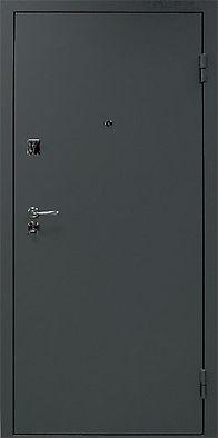 Дверь металлическая недорого от производителя черная