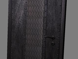 Двери в стиле лофт и стимпанк.