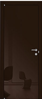 Черная глянцевая дверь недорого в Москве
