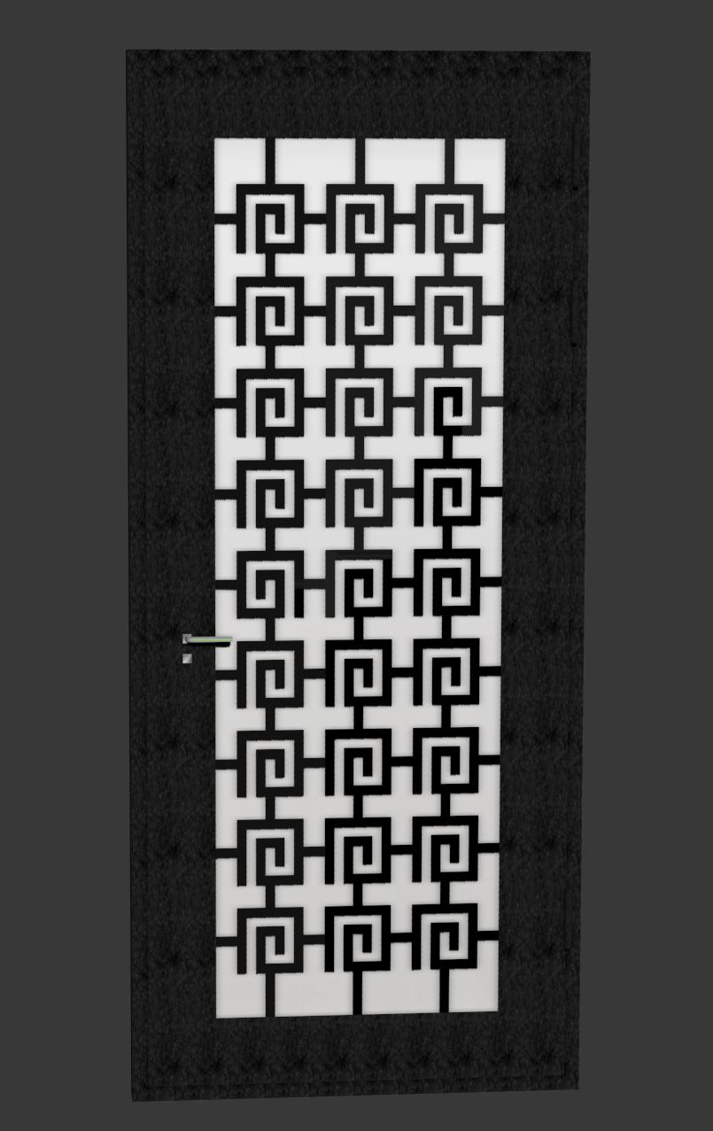 дверь в античном стиле