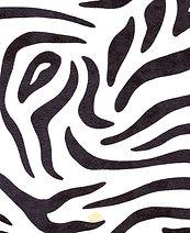Кожа под зебру
