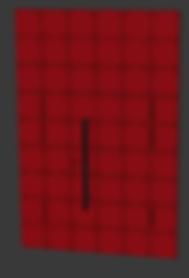 Красная входная дверь Рал 3020