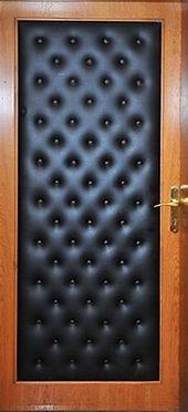 Винилискожа элитная входная дверь