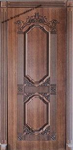 Дверь элитная с резьбой