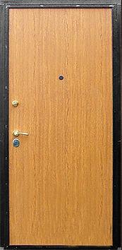 Дешевая стальная дверь с отделкой ламинат