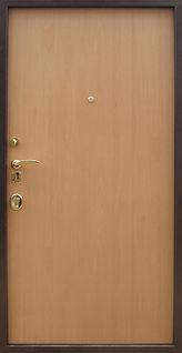 Дешевая металлическая дверь ламинат
