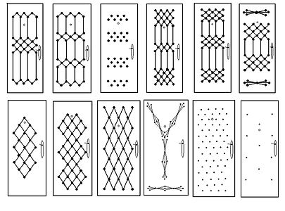 Рисунки для дешевых металлических | Железных | стальных входных дверей