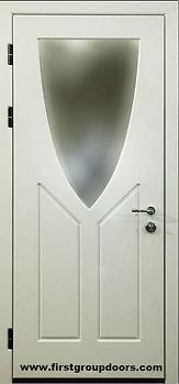 Входная дверь с зеркалом | Купить от производителя в Москве
