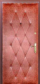Дешевая металлическая дверь