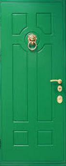 Голубая глянцевая голубая водная дверь недорого