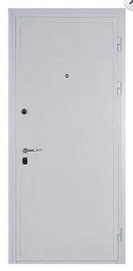 Недорогая металлическая дверь белая в москве от производителя