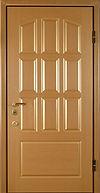 Дверь металлическая с отделкой МДФ дешево