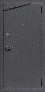 Недорогие металлические двери с отделкой МДФ