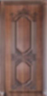 Двери с резьбой