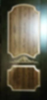 Дверь входная в стиле лофт, фьюжн, урбан