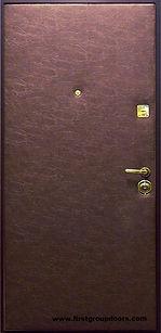 Дешевая стальная дверь из винилискожи ЭКОНОМ,дешевые двери входные,  двери входные дешевые, дешевые металлические двери входные в городе Пушкино
