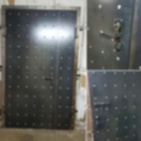 Металлическая | Железная дверь в стиле лофт