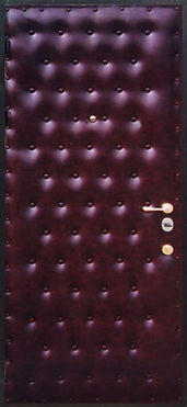 дверь металлическая с отделкой винилискожей