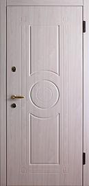 входная дверь МДФ светлая