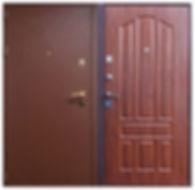 Дверь входная порошковое напыление + МДФ в Химках