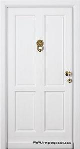 Двери входные с отделкой МДФ