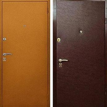 Стальные двери недорого
