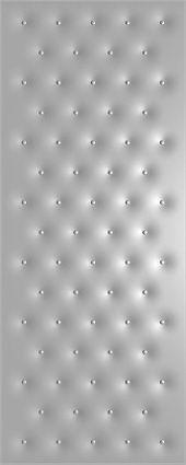 Рисунок пуговицами на металлические двери с отделкой винискожей