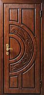 Дверь элитная с художественной резьбой - надежно, красиво