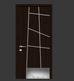 Дизайнерские входные двери со шпоном Венге.