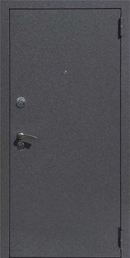 Входные металлические двери  с отделкой порошковым покрытием крокодил (ящерица)