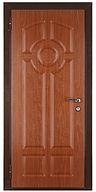 Дверь стальная с отделкой МДФ ПВХ недорогая модель