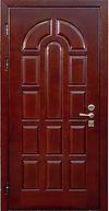 Дверь железная входная с отделкой МДФ классическая