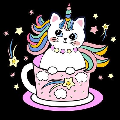 —Pngtree—cartoon cup unicorn cat_6365766