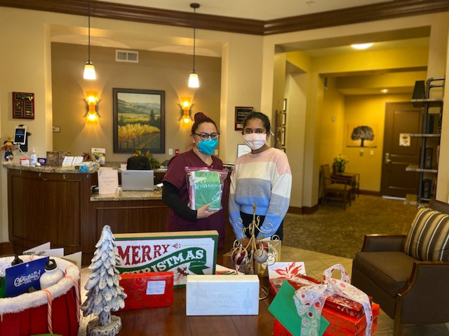 Cards for Sunol Creek Memory Care!
