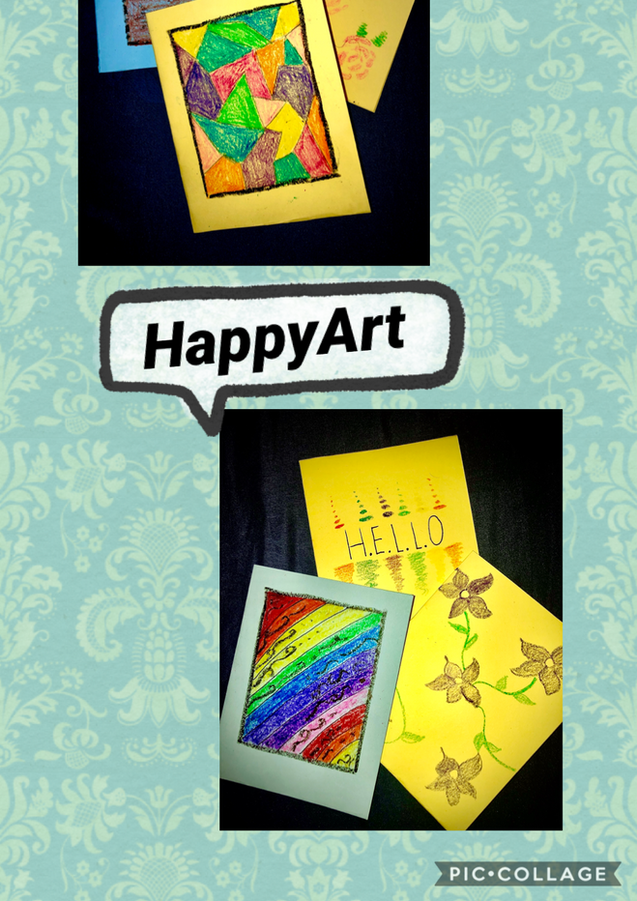 Abstract Cards!