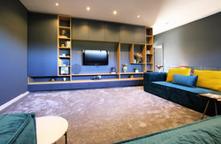 Family pajama lounge