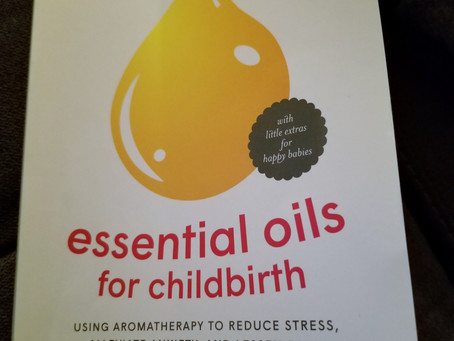 Essential Oils for Childbirth Book Review.