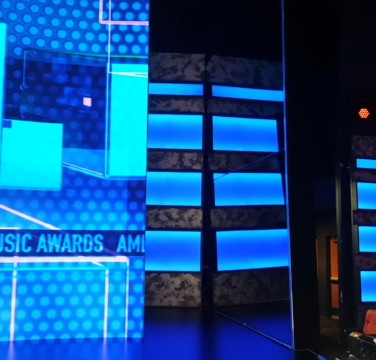 LiteMirror - Glassless Mirror for the American Music Awards