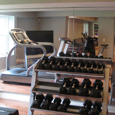 Home Gyms Mirrors - Floor length easy installation