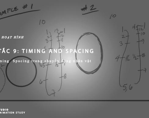 Nguyên Tắc Animation - Nguyên Tắc 9: Timing & Spacing