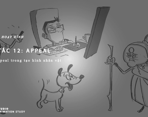 Nguyên Tắc Animation - Nguyên Tắc 12: Appeal