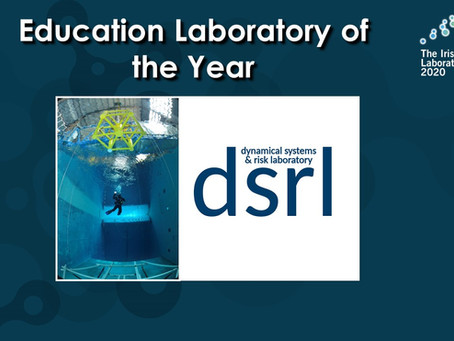 DSRL awarded twice in the Irish Laboratory Awards 2020