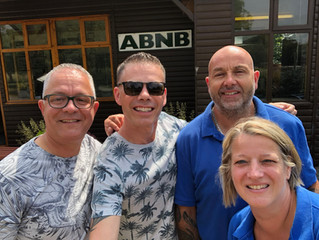 Our visit to ABNB Brokerage.