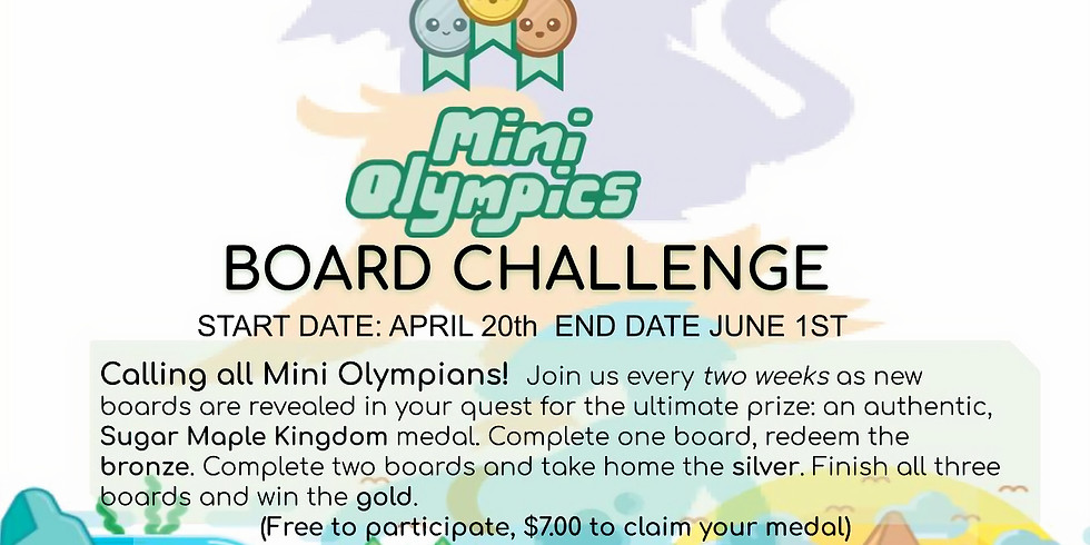 MINI OLYMPICS KINGDOM CHALLENGE