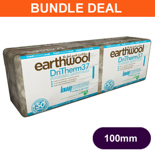 DRITHERM 37 100MM CAVITY INSULATION 20 X 6.55M2 PACKS