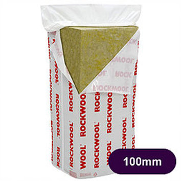 ROCKWOOL FLEXI 100MM THICK 4.32M2 PACK